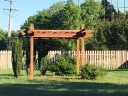 Peaceful pergola!