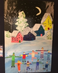 collaborative art project
